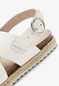 Next - TAN LEATHER ROPE WRAP SANDALS (OLDER) - Sandals - white - 4