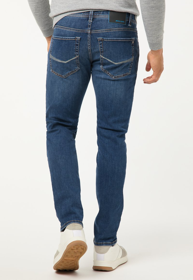 Pierre Cardin Jeans Tapered Fit - mid blue used/blau UO1p0F