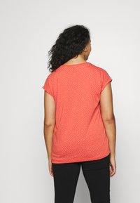 Ragwear Plus - DIONE - T-shirt print - chili red - 2