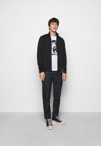 PS Paul Smith - MENS ZIP TRACK - Zip-up hoodie - black - 1