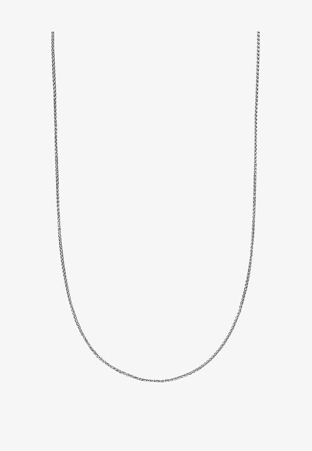 Halskette - weißgold