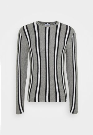 ONSSATO STRIPED  - Jumper - medium grey