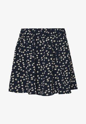 ONLNOVA LUX SKATER SKIRT - Mini skirt - dark blue