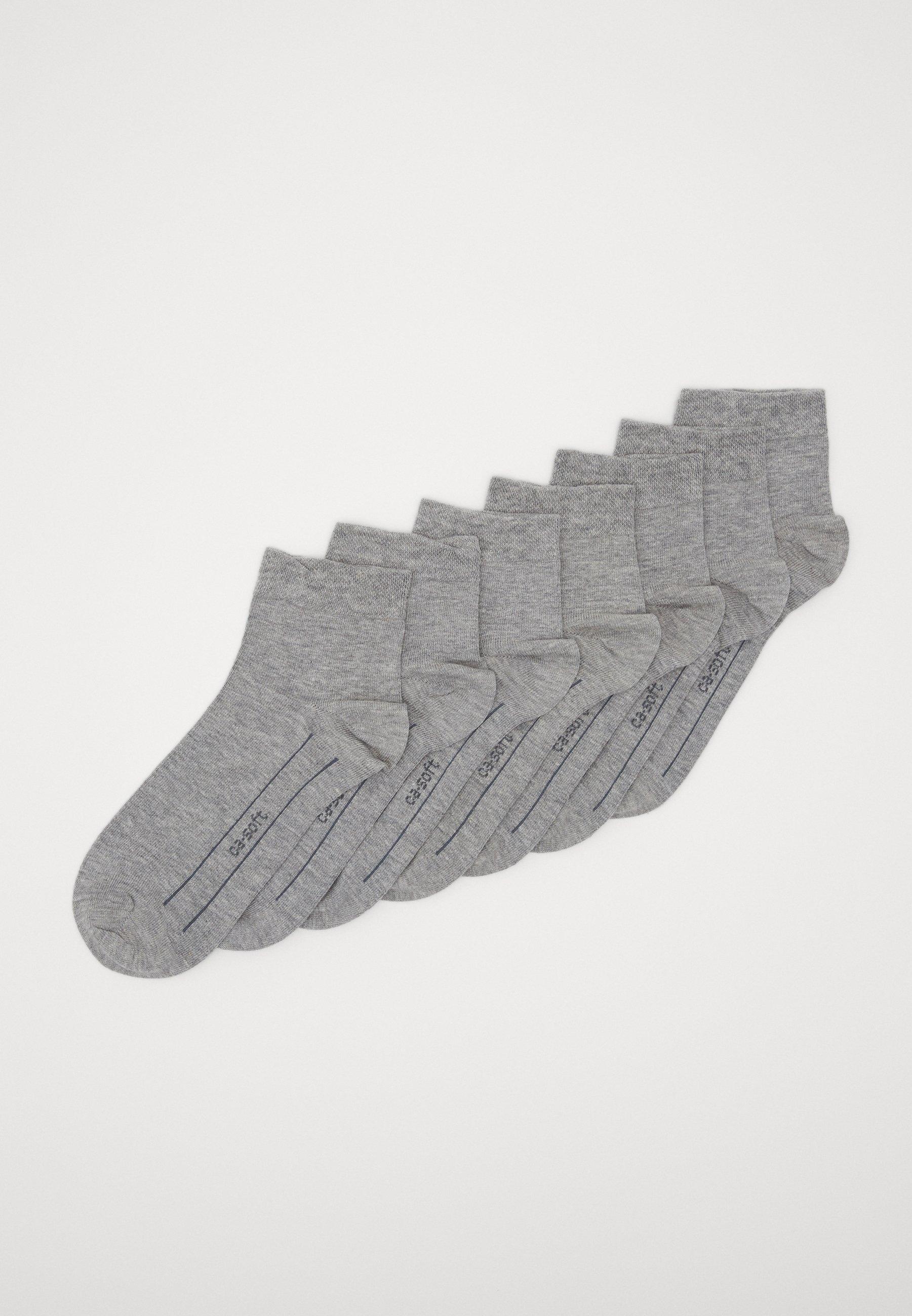 Femme ONLINE SOFT QUARTER UNISEX 7 PACK - Chaussettes