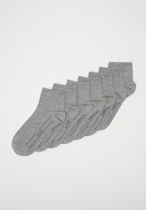 ONLINE UNISEX BASIC 7 PACK - Ponožky - light grey melange