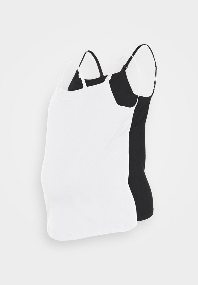 2PACK NURSING FUNCTION cami - Top - black/white