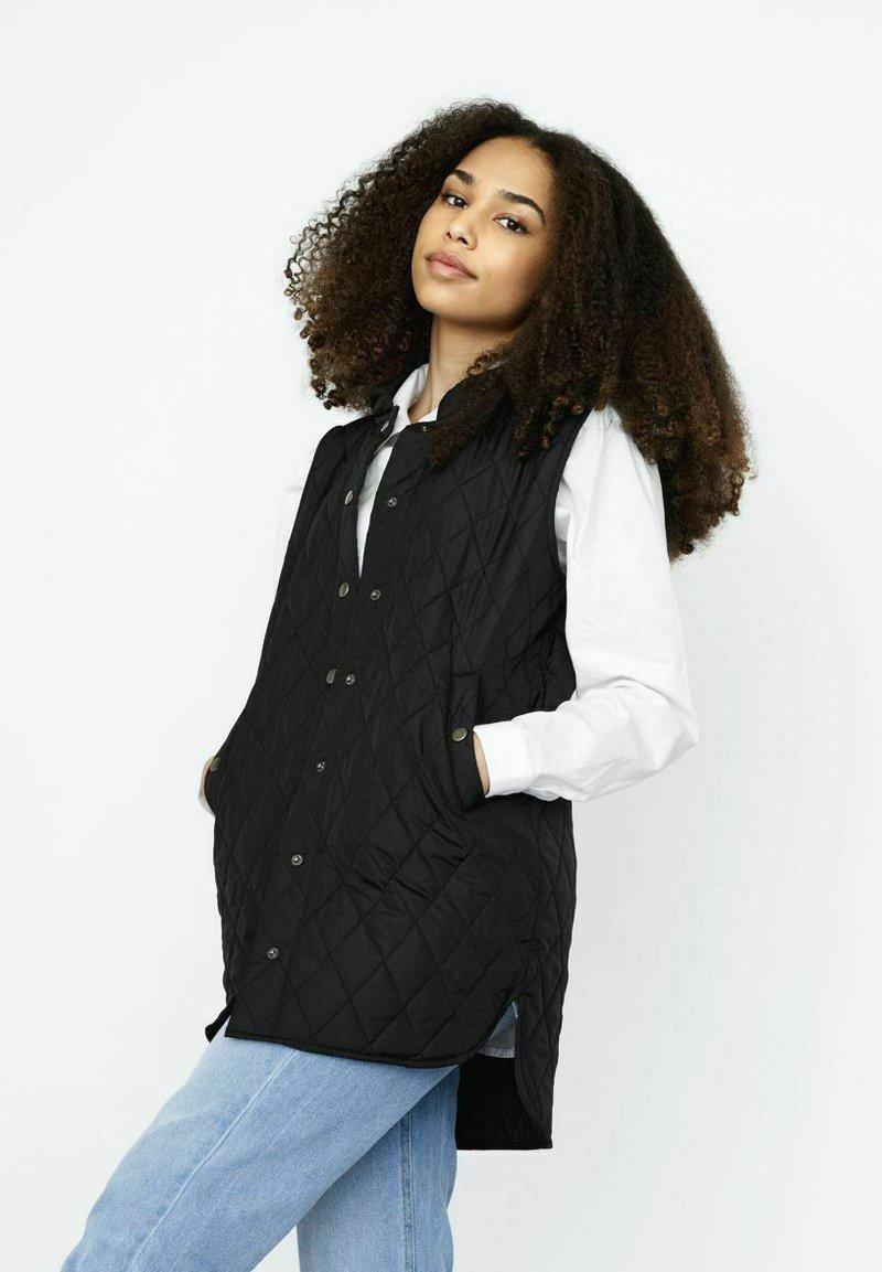 LMTD - Waistcoat - black