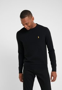 Polo Ralph Lauren - LORYELLE  - Jumper - black/gold - 0
