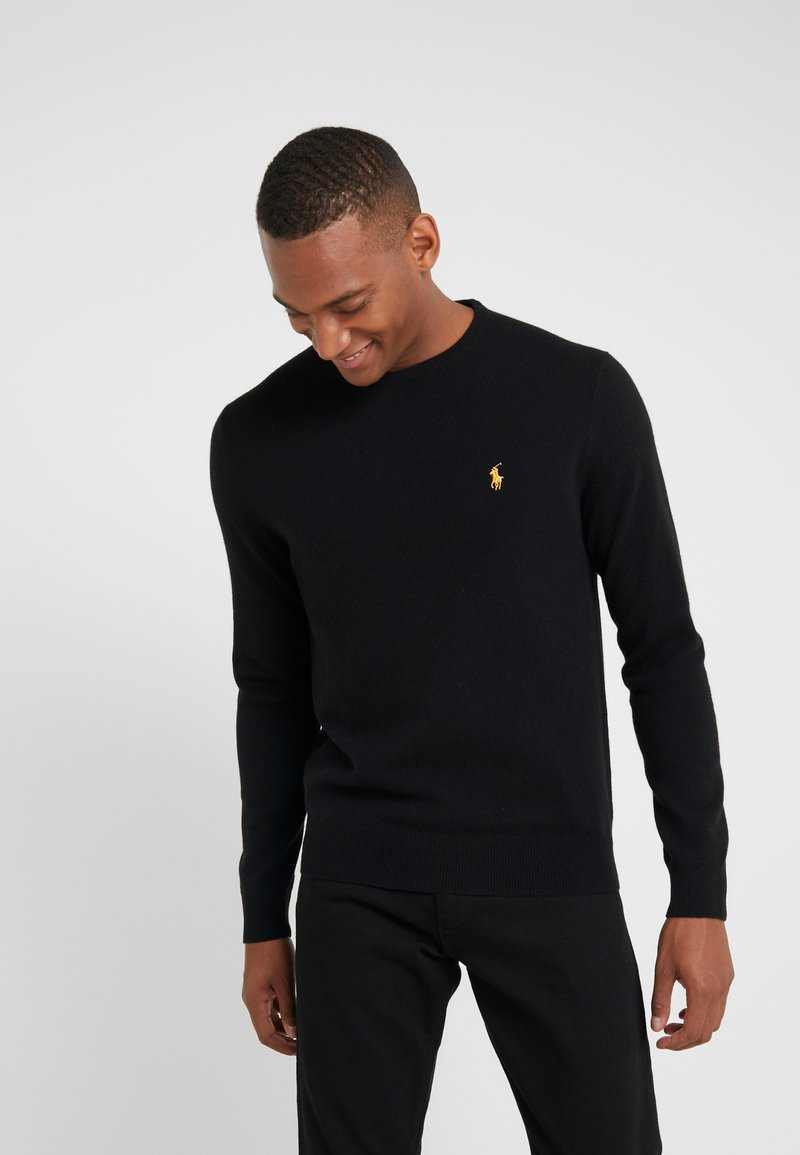 Polo Ralph Lauren - LORYELLE  - Jumper - black/gold