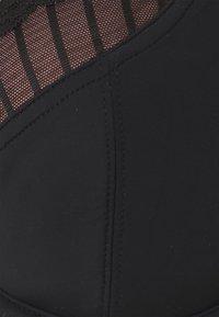 Pour Moi - LUXE LINEAR UNDERWIRED BRA - Kaarituelliset rintaliivit - black/light pink - 2