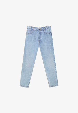 MOM-FIT  - Straight leg jeans - blue denim