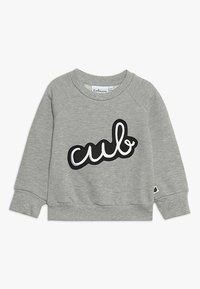 Tobias & The Bear - BABY ICONS CUB BADGE - Sweatshirt - grey marl - 0