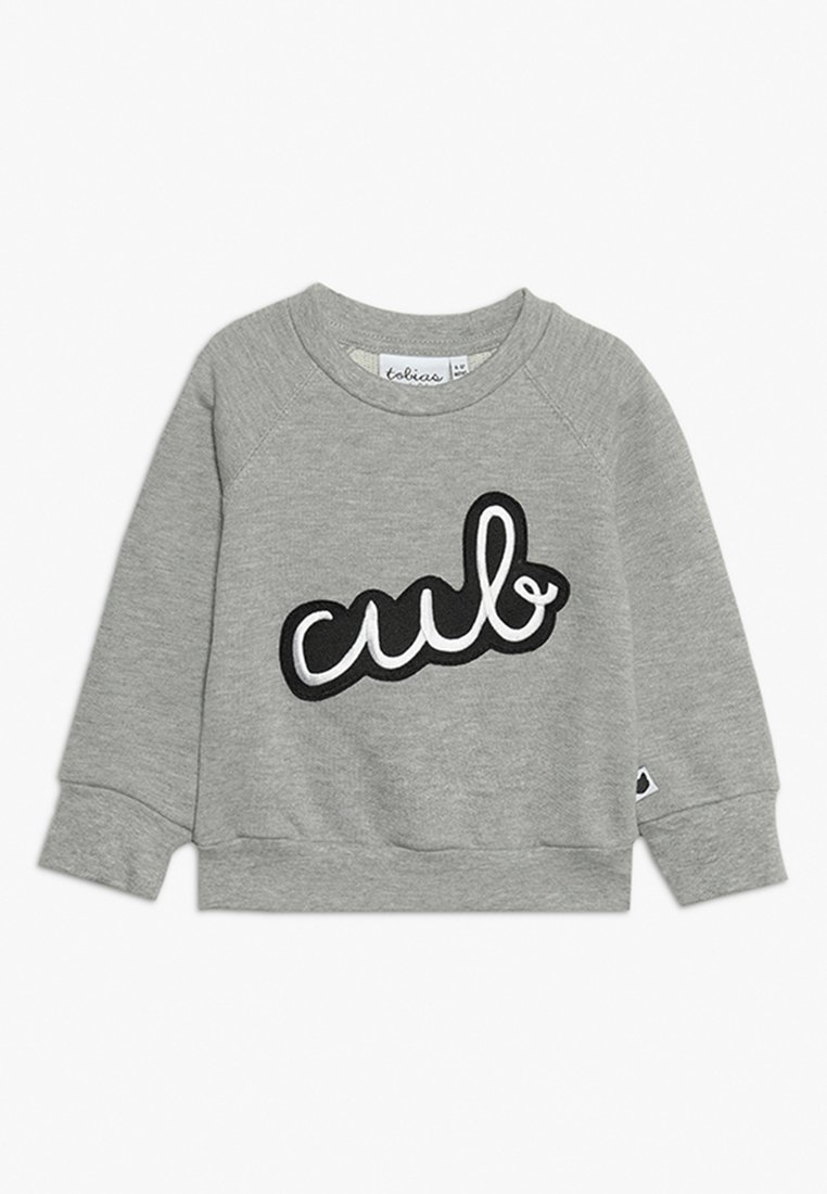 Tobias & The Bear - BABY ICONS CUB BADGE - Sweatshirt - grey marl