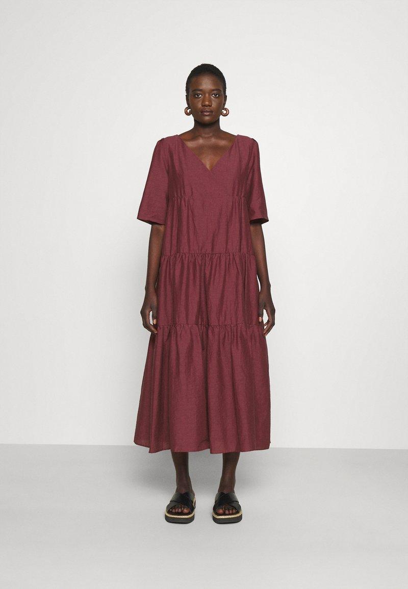 WEEKEND MaxMara - TEVERE - Maxi dress - bordeaux