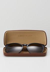 Longchamp - Okulary przeciwsłoneczne - black/havana - 3