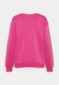 Selected Femme - SLFARTISTA CAMILLE  - Sweatshirt - very berry/white - 1