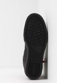 Diesel - S-DVELOWS MID - Sneakersy wysokie - black - 4
