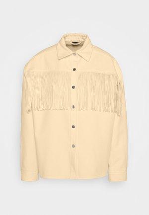 FANNY FRINGE JACKET - Summer jacket - pristine white