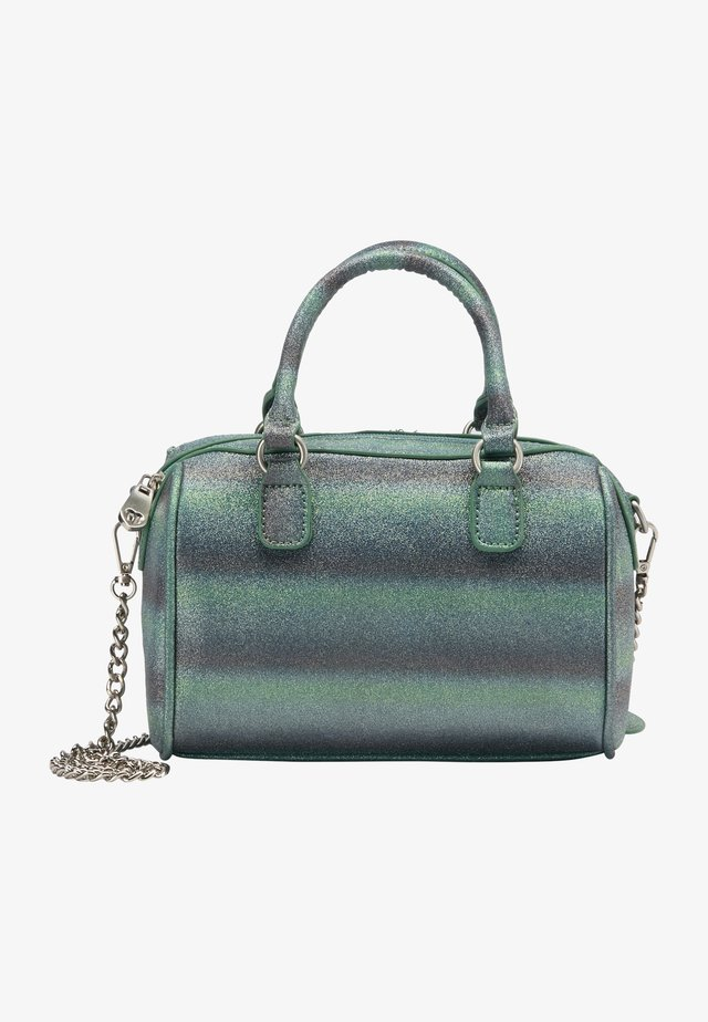 Handväska - blau grün