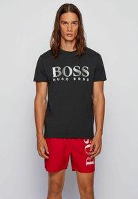 BOSS - T-shirt print - black - 0