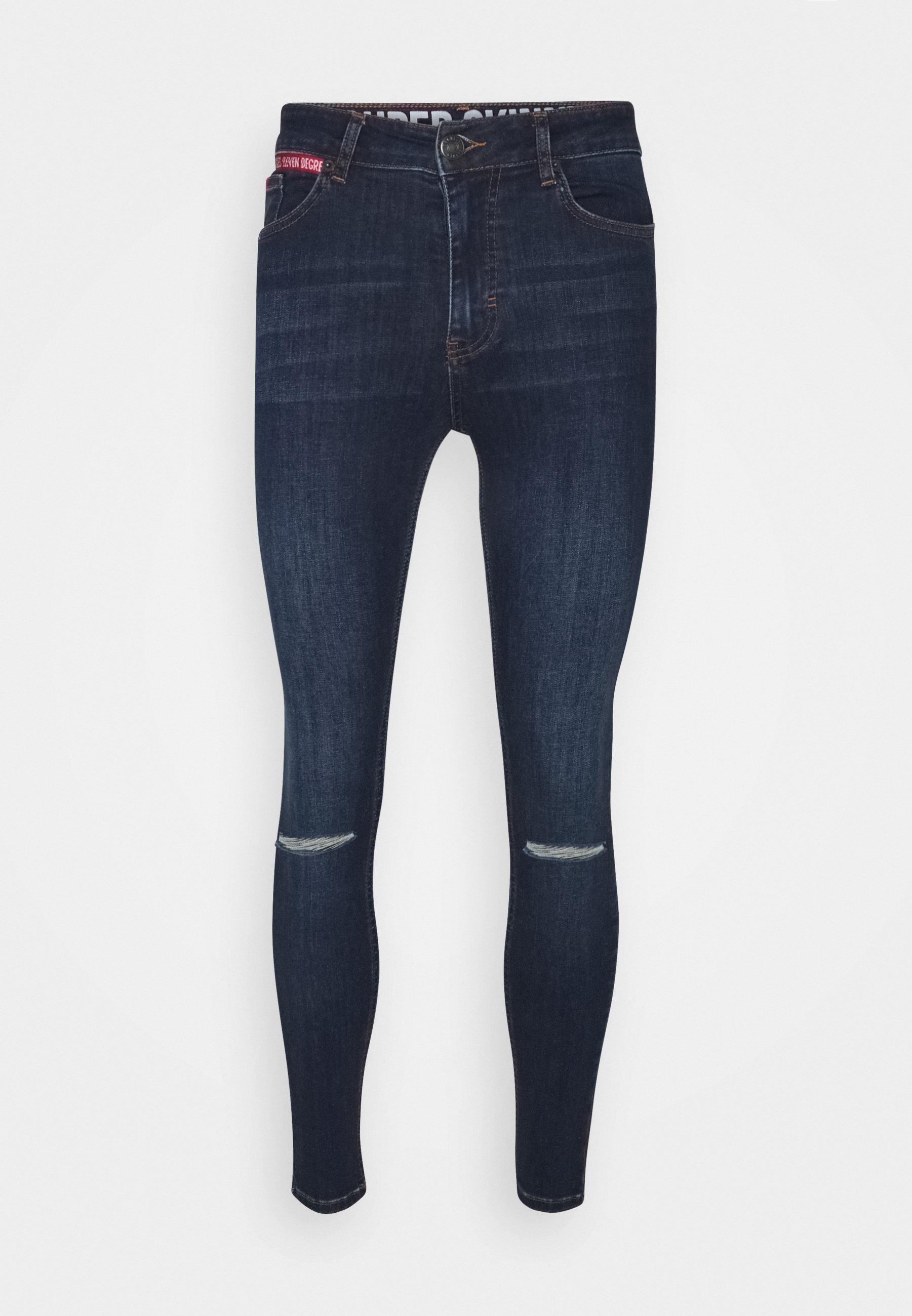Men SLASHED KNEE  - Jeans Skinny Fit
