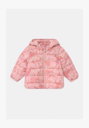 PUFFER DETACH HOOD - Winter jacket - pure pink