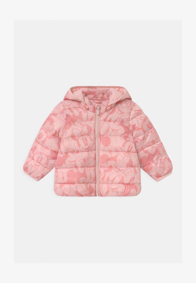PUFFER DETACH HOOD - Winterjas - pure pink
