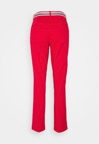 Tommy Hilfiger - CHINO SLIM PANT - Chinos - primary red - 1