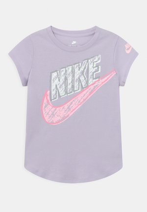 GRAPHIC - Camiseta estampada - purple chalk