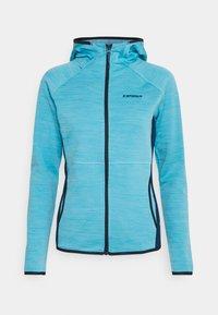 DELTONA - Fleece jacket - aqua