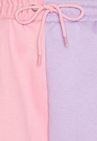 Missguided - COLOUR BLOCK JOGGERS - Tracksuit bottoms - pink - 2
