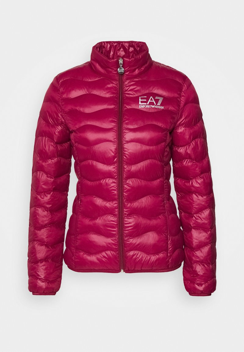 EA7 Emporio Armani - JACKET - Light jacket - beet red