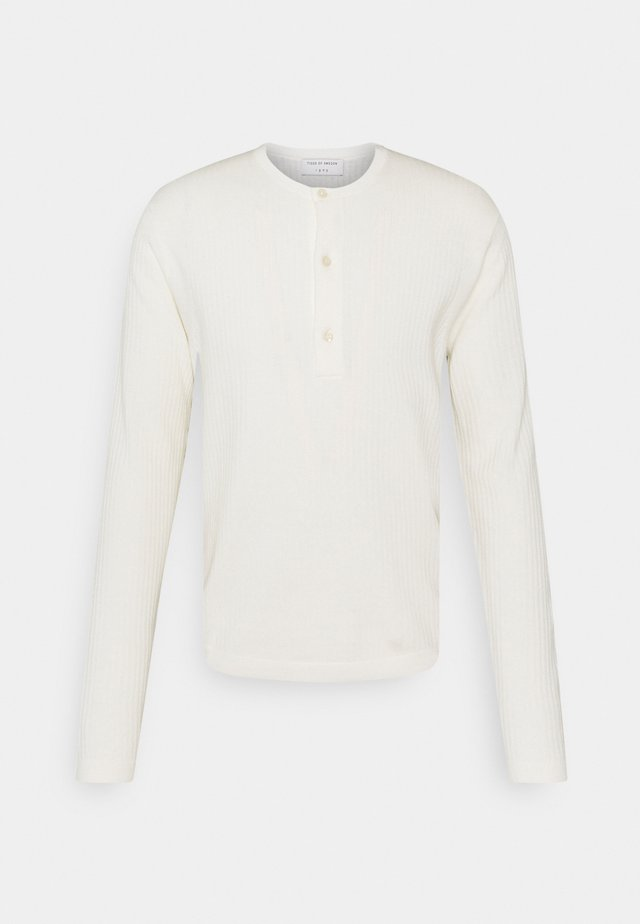 NASSAU - Pullover - light ivory