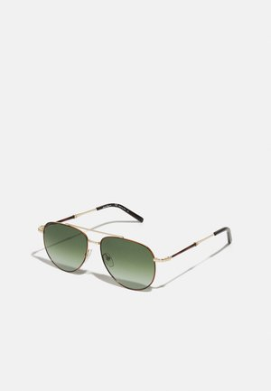 UNISEX - Sunglasses - tortoise/gold-coloured