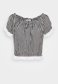 Hollister Co. - SAFFY - Blouse - black/white - 3