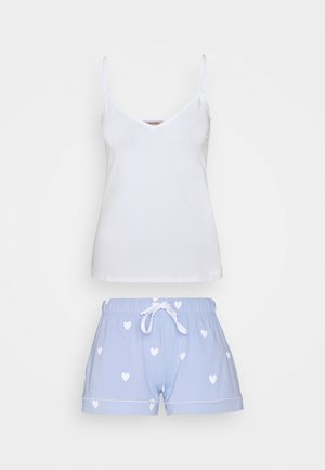 Pyjama set - white/blue