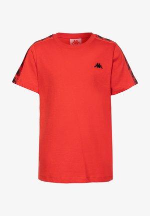 GRENNER - Print T-shirt - poppy red