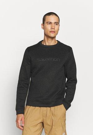 SNTIAL WARM  - Sweater - black/heather