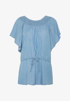 Blouse - light blue denim