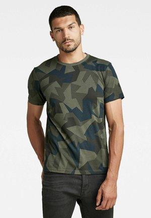 CAMO  - T-shirt con stampa - asfalt gd swedish small camo