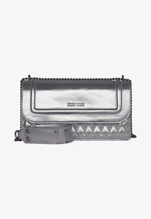 Handbag - metallic-silver
