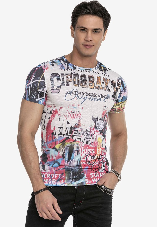 Print T-shirt - multi color