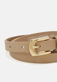 Anna Field - 2 Pack - Belt - cognac/taupe - 2