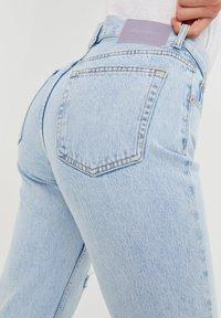 PULL&BEAR - Straight leg jeans - mottled royal blue - 4