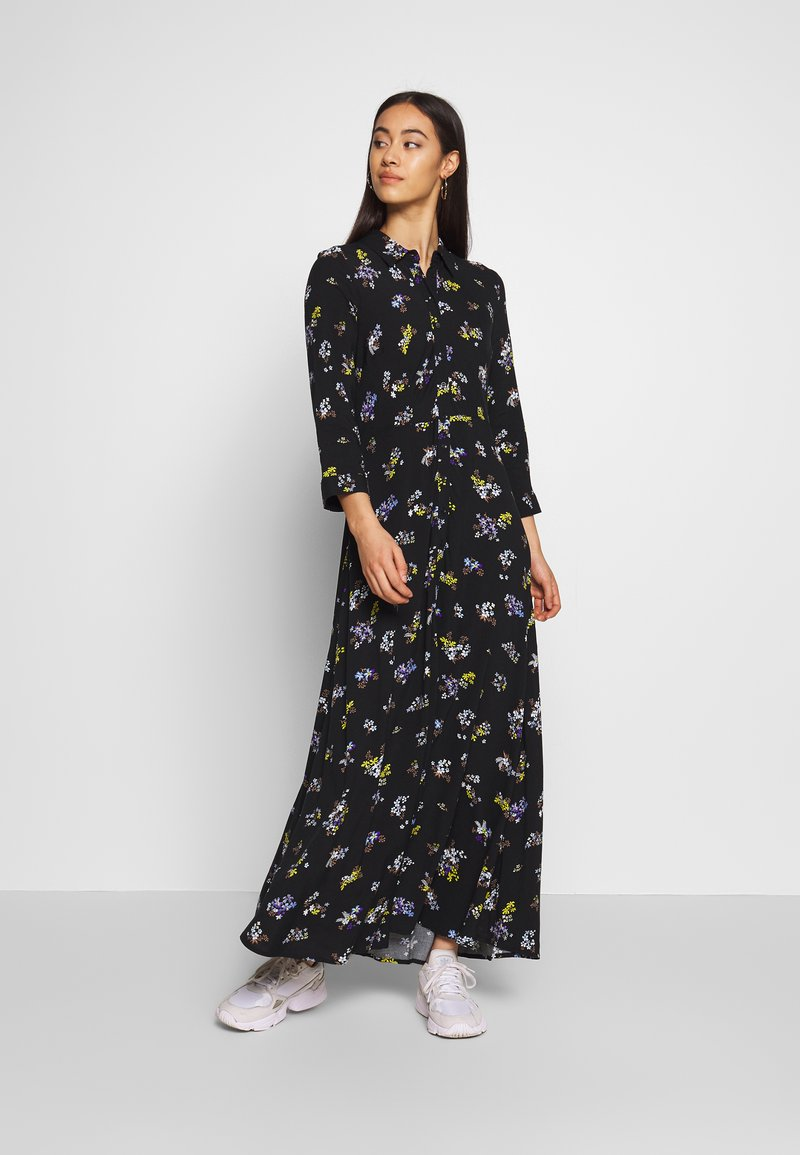 YAS - YASSAVANNA LONG DRESS - Maxikjole - black