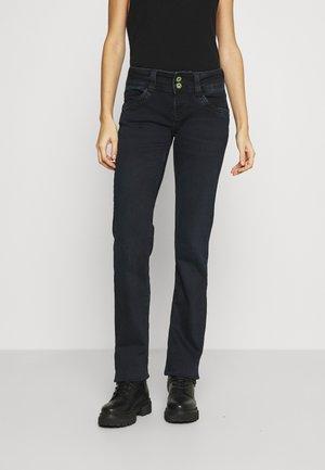 GEN - Straight leg jeans - dark-blue denim