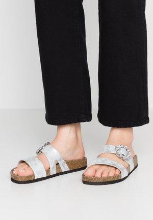 Domácí obuv - silver