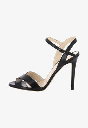 EVA - High heeled sandals - black