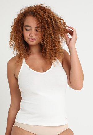 PLUS TANK - Pyjama top - powder