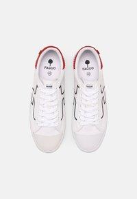 Faguo - KIWI UNISEX - Trainers - white/navy/red - 3